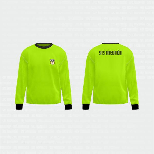 bluza bramkarska zielona