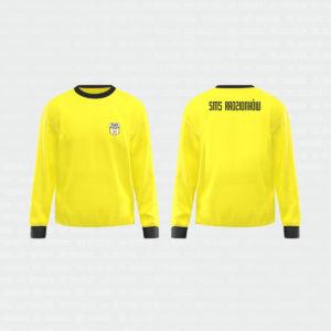 bluza bramkarska żółta
