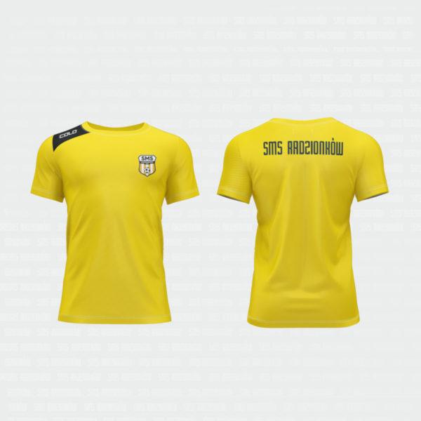 koszulka meczowa żółta